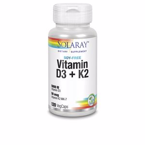 Vitaminas BIG D3 & K2 Solaray