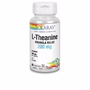 Aminosäuren und Proteine L-THEANINE 200 mg Solaray
