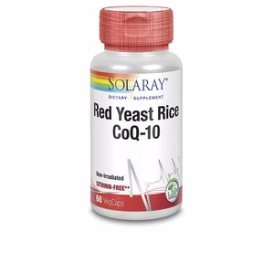 Otros suplementos RED YEAST RICE PLUS Q10 Solaray