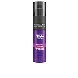 Hair styling product FRIZZ-EASE laca barrera antihumedad John Frieda