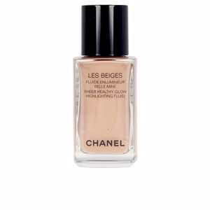 Iluminador maquiagem LES BEIGES healthy glow sheer highlighting fluid Chanel