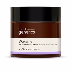 Anti aging cream & anti wrinkle treatment WAKAME crema antiarrugas 23% Skin Generics