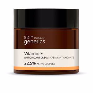 Antioxidant treatment cream - Antifatigue facial treatment VITAMINA E crema antioxidante 22,5% Skin Generics