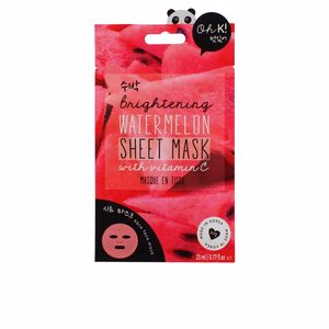 SHEET FACE MASK brightening watermelon 23 ml