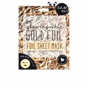 Mascarilla Facial GOLD FOIL sheet mask Oh K!