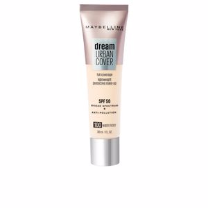 Foundation makeup DREAM URBAN COVER full coverage SPF50 Maybelline
