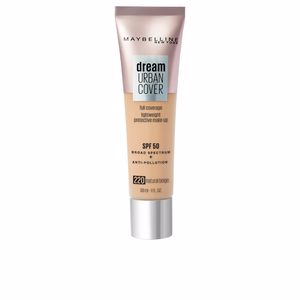 Base de maquillaje DREAM URBAN COVER full coverage SPF50 Maybelline