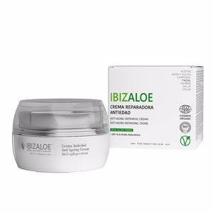 Anti aging cream & anti wrinkle treatment IBIZALOE reparadora antiedad SPF 15 Ibizaloe