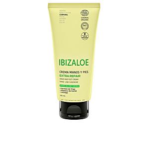 Hand cream & treatments IBIZALOE crema manos y pies extra reparadora Ibizaloe
