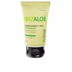 Foot cream & treatments IBIZALOE crema manos y pies extra reparadora Ibizaloe