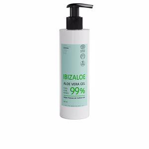 Hidratante corporal IBIZALOE gel puro de Aloe Vera 99% hojas frescas cultivo ECO Ibizaloe