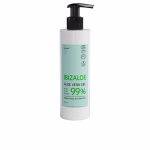 Body moisturiser IBIZALOE gel puro de Aloe Vera 99% hojas frescas cultivo ECO