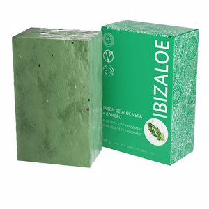 Gel de baño IBIZALOE jabón de Aloe Vera + Romero Ibizaloe