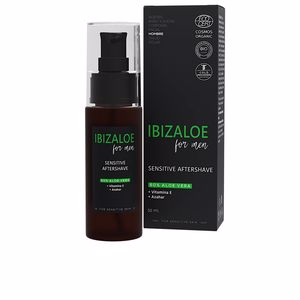 Aftershave IBIZALOE MAN sensitive aftershave Ibizaloe