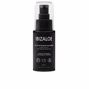 Body moisturiser IBIZALOE aceite reparador relajante Ibizaloe