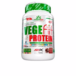 Plantaardig eiwit VEGEfiit PROTEIN #doble chocolate Greenday