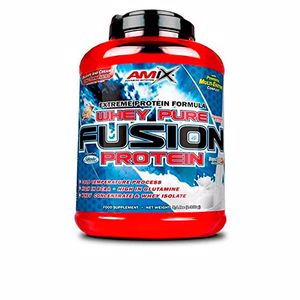 Isolated whey protein - Whey concentrate WHEY PURE FUSION #fresa Amix
