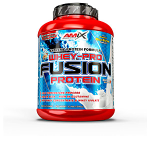 Isolated whey protein - Whey concentrate WHEY PRO FUSION #plátano Amix