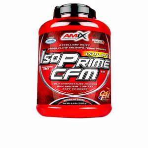 Isolated whey protein ISOPRIME CFM ISOLATE #doble-chocolate blanco