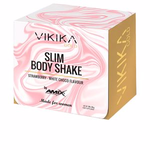 Whey concentrate SLIM BODY SHAKE #fresa-chocolate blanco Vikika Gold