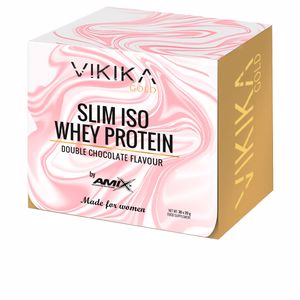 Isolated whey protein SLIM ISO WHEY PROTEIN #doble-chocolate Vikika Gold