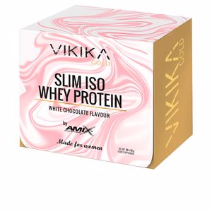 Isolated whey protein SLIM ISO WHEY PROTEIN #chocolate blanco Vikika Gold