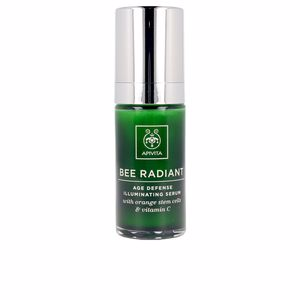 Flash-Effekt BEE RADIANT age defense illumating serum Apivita