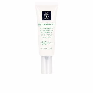 Efecto flash BEE RADIANT day cream SPF30 Apivita