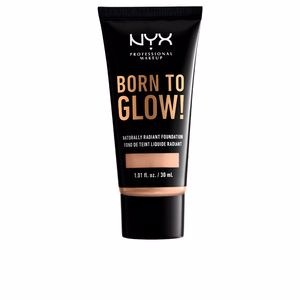 Base de maquillaje BORN TO GLOW naturally radiant foundation Nyx Professional Makeup