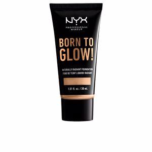 Foundation makeup BORN TO GLOW naturally radiant foundation Nyx Professional Makeup