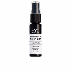 Makeup fixer DEWY FINISH setting spray mini Nyx Professional Makeup