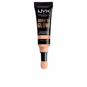 Corrector maquillaje BORN TO GLOW radiant concealer Nyx Professional Makeup