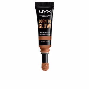 Corrector maquillaje BORN TO GLOW radiant concealer Nyx Professional Make Up