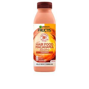 Hair straightening shampoo FRUCTIS HAIR FOOD macadamia champú alisador Garnier