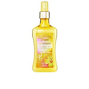 GOLDEN PARADISE fragance mist shimmer edition 250 ml