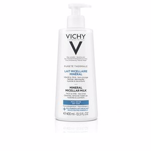 Make-up remover - Cleansing milk - Make-up remover PURETÉ THERMALE lait micellaire minéral PS Vichy Laboratoires