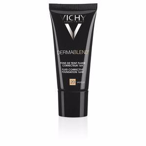 Foundation makeup DERMABLEND fond de teint fluide correcteur 16h Vichy Laboratoires