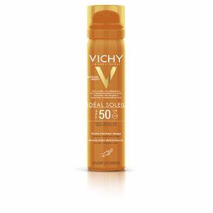 Faciales IDÉAL SOLEIL brume fraîcheur visage SPF50 vaporizador Vichy Laboratoires