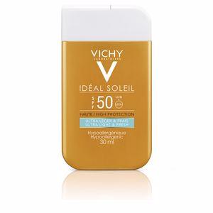 Faciales IDÉAL SOLEIL POCKET fluide ultra léger & frais SPF50 Vichy Laboratoires