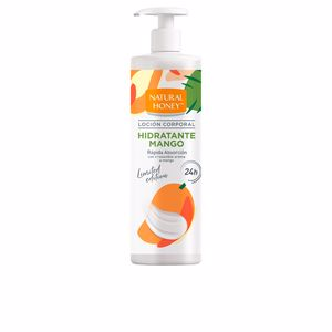 Body moisturiser MANGO loción corporal dosificador Natural Honey