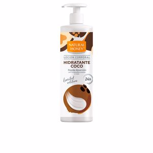Body moisturiser COCO loción corporal dosificador Natural Honey