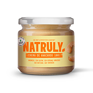 Crema untable CREMA ORGÁNICA #anacardo Natural Athlete
