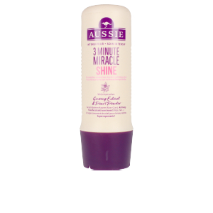 Tratamiento brillo 3 MINUTE MIRACLE SHINE deep treatment Aussie