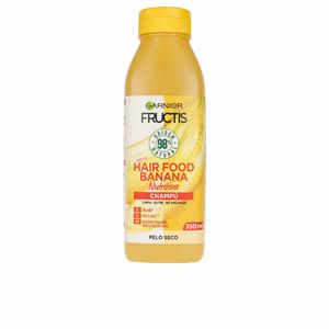Shampooing hydratant FRUCTIS HAIR FOOD banana champú ultra nutritivo