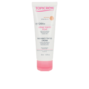 BB Crème HYDRA+ radiance tinted cream Topicrem
