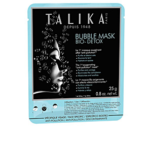 Face mask BUBBLE BIO DETOX anti-pollution mask Talika