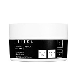 Skin tightening & firming cream  SKINTELLIGENCE ANTI-AGE regenerating night cream Talika