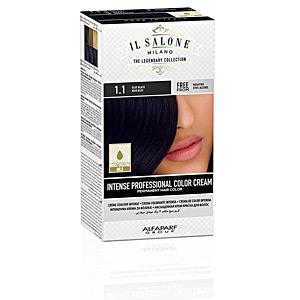 Tintes INTENSE PROFESSIONAL COLOR CREAM permanent hair color #1.1-b Il Salone Milano