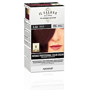 Tintes INTENSE PROFESSIONAL COLOR CREAM permanent hair color #6.66 Il Salone Milano