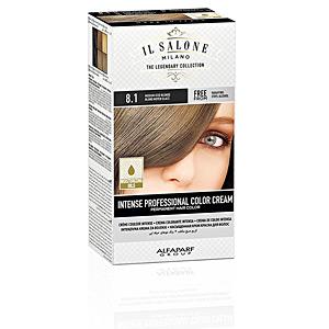Tintes INTENSE PROFESSIONAL COLOR CREAM permanent hair color #8.1 Il Salone Milano